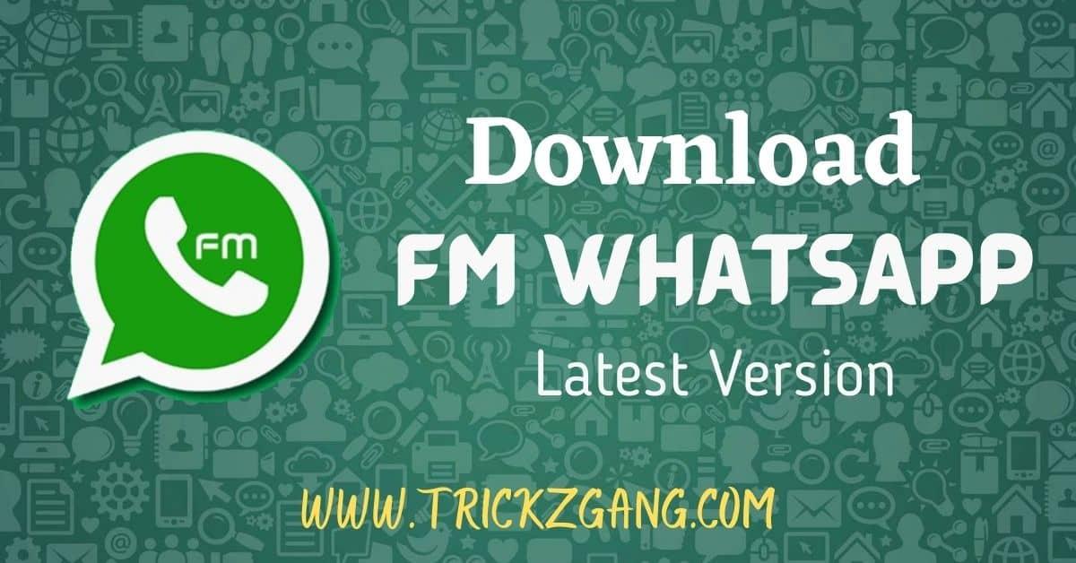 Download FM WhatsApp APK Latest Version
