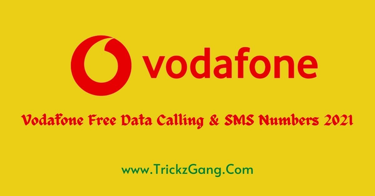 Vodafone Free Internet Data Tricks