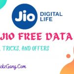 Jio Free Data Tricks, Tips, And Offers