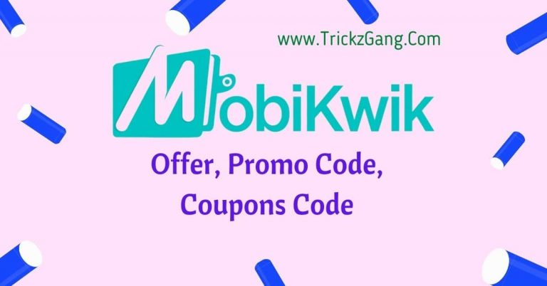 Mobikwik Offers, Promo Codes, Coupon Codes